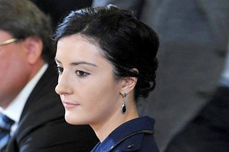 La joven escritora Alisa Ganíeva.