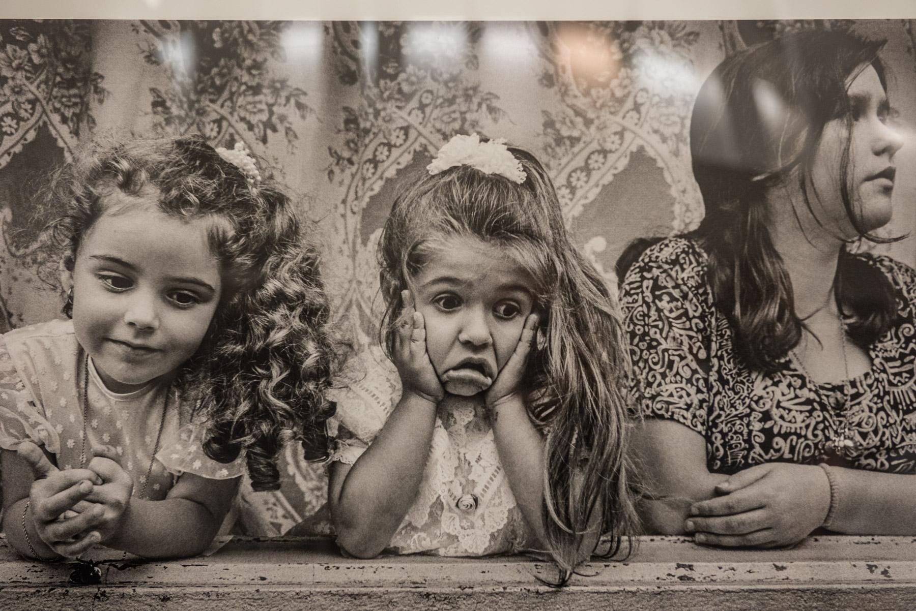 """De la exposición """"Con la boca abierta"""", Moscú."""