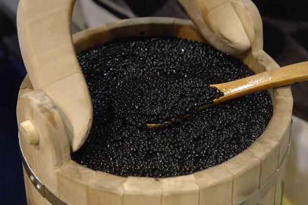 El caviar negro. Foto: ITAR-TASS