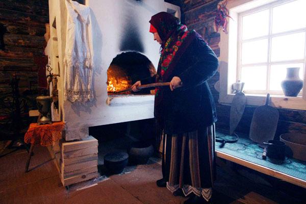 El horno tradicional ruso. Foto: Ria Novosti