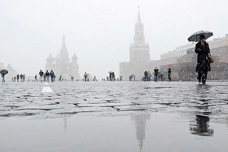 En la mayor parte de Rusia suben las temperaturasmáximas y mínimas anuales.