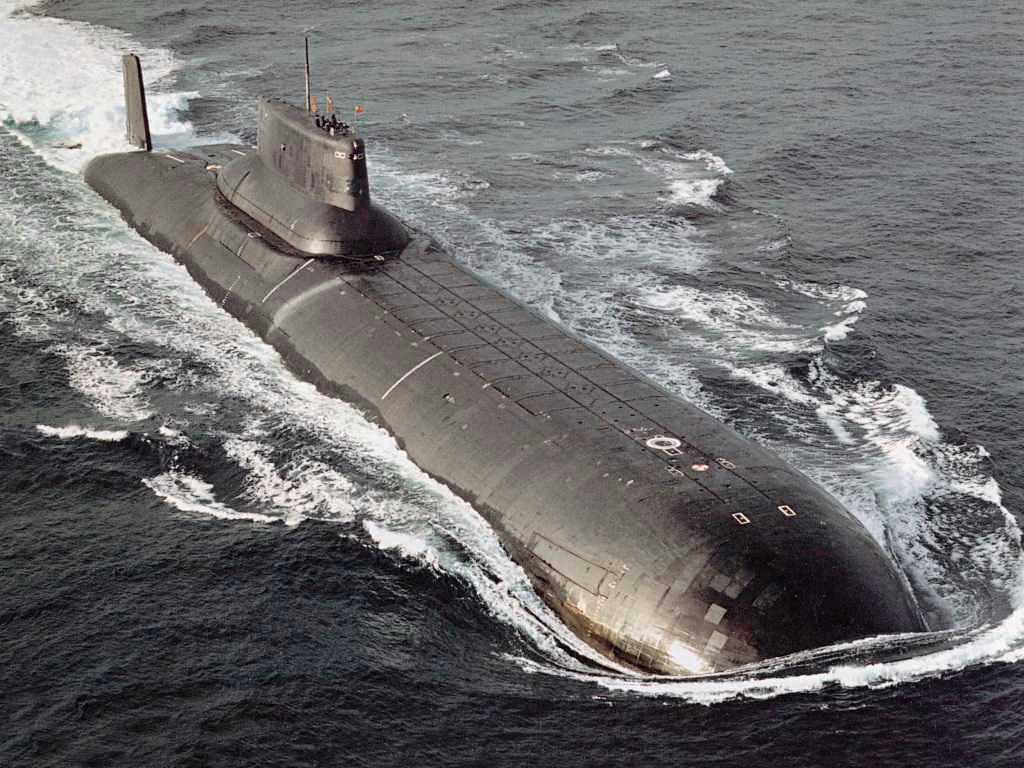 Submarino da classe Typhoon Foto: Bellona Foundation/wikipedia
