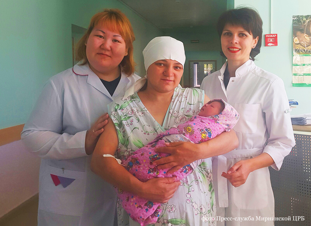 A woman gave birth to a girl in Yakutian taiga. Foto: Press photo