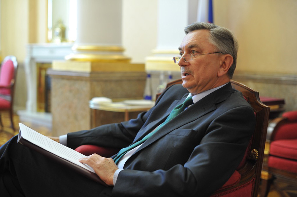 Embajador de Rusia en España, Yuri Korchagin.