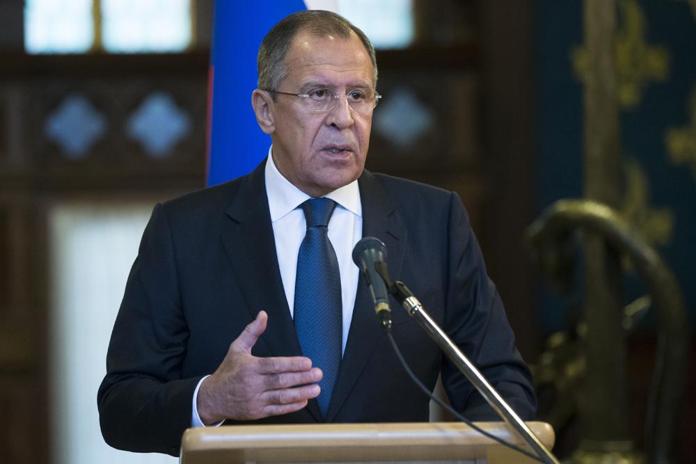 Lavrov descartou intenção de romper relações diplomáticas com a Ucrânia