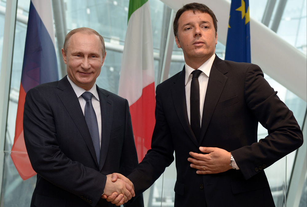 El primer ministro Matteo Renzi.