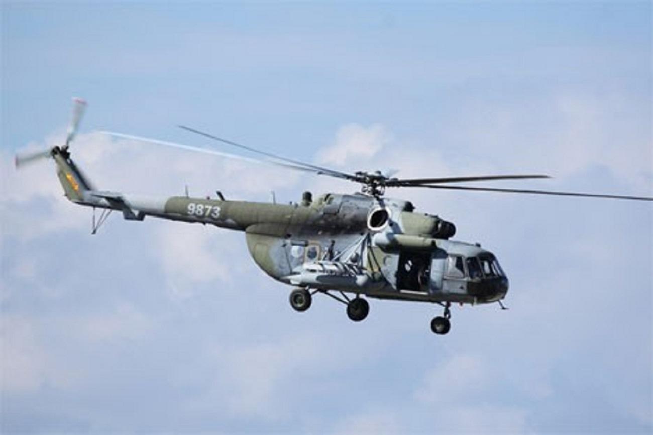 Helicóptero Mi-171Sh. Fuente: flickr / Jerry Gunner