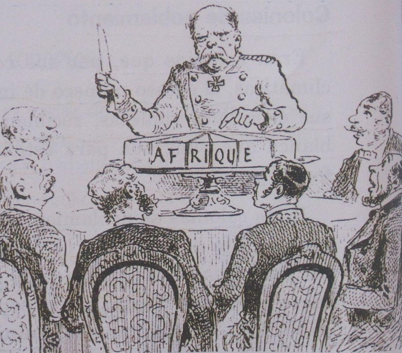 Берлински конгрес, карикатура, 1885.  / CC BY-SA 4.0-3.0-2.5-2.0-1.0, via Wikimedia Commons