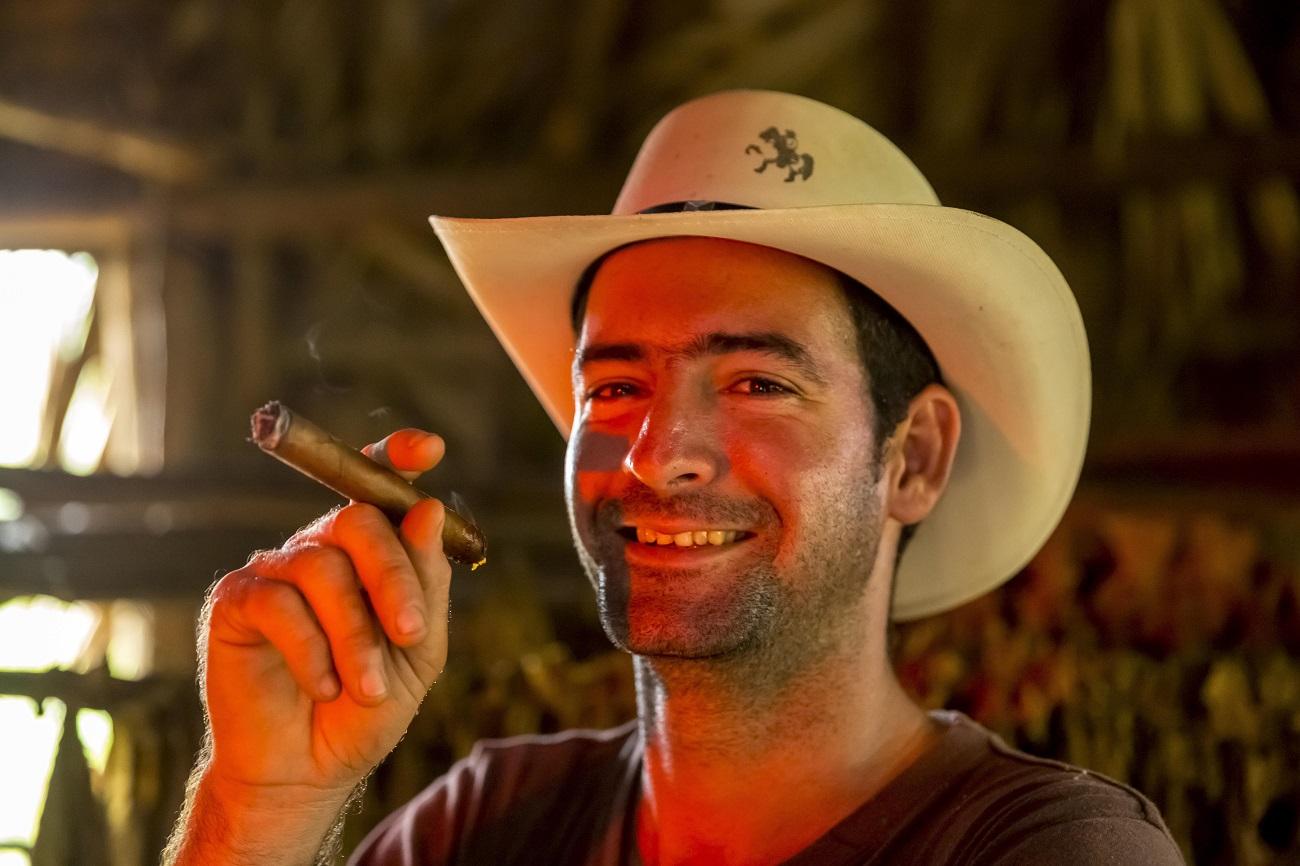 Un hombre de Vinales, Pinar del Rio, Cuba. Fuente: Hans Blossey/Global Look Press