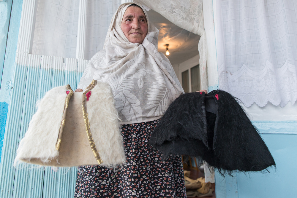 Burqas are made by the Andi people, an indigenous West Dagestanian group that lives near the Andi Koysu River.
