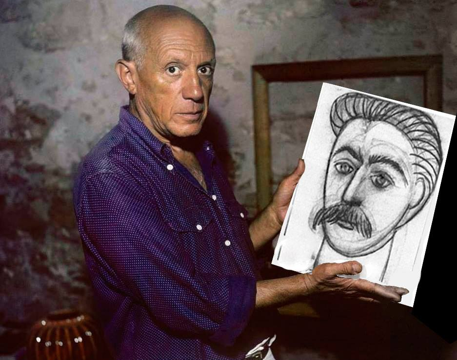 Image result for picasso stalin