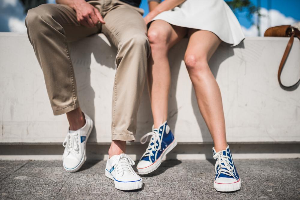 Queste scarpe dallo stile sovietico sono tornate di moda e la clientela è composta soprattutto da giovani russi.