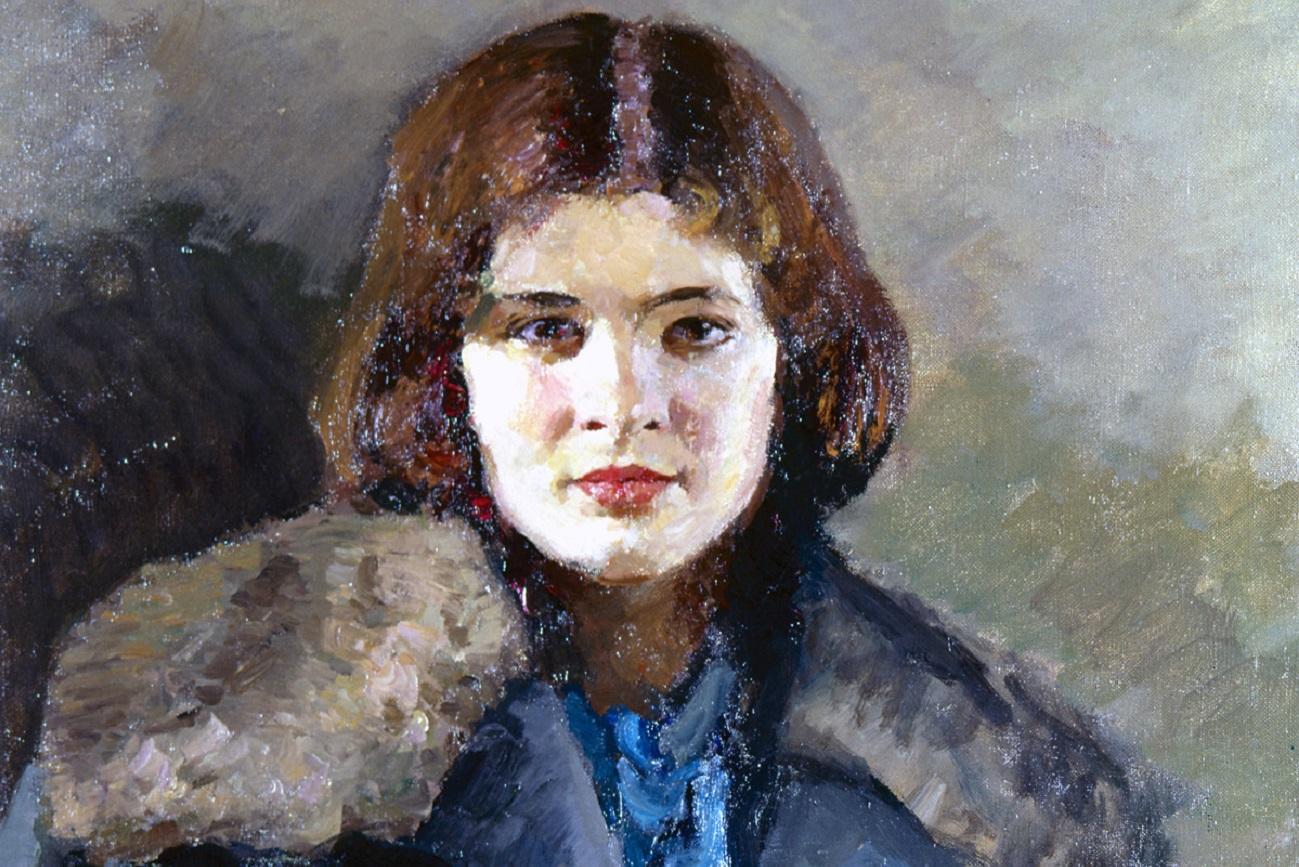 "Igor Grabar, ""Svetlana"", 1933. Galería Tretiakov."