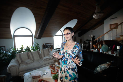 Irina Khakamada: une personnalité haute en couleur. Crédit photo: RIA Novosti