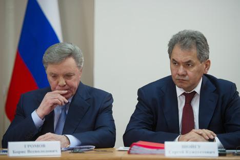 Les atouts de Choïgou sont sa popularité et le soutien du Kremlin. Crédit photo: Serguei Gouneev/RIA Novosti