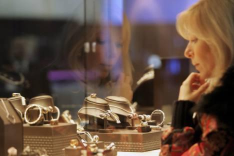 Pour 30% des Russes les diamants sont le symbole du luxe. Crédit photo: Reuters / Vostock Photo