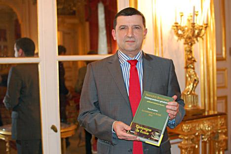 Thierry Lentz, directeur de la Fondation Napoléon. Crédit photo: Maria Tchobanov