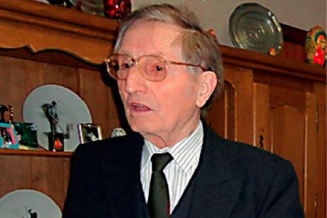 Ivan Bachkatov à son domicile de Pont-à-Celles, en Wallonie. Source: service de presse