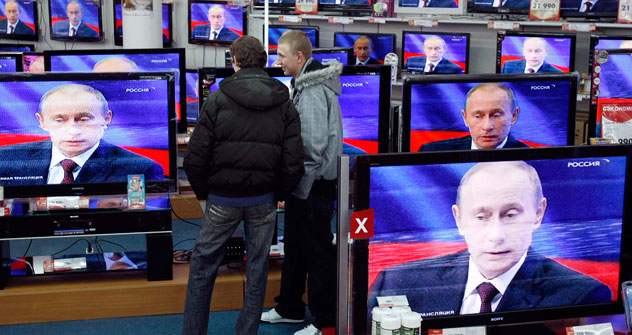 According to domestic Russian broadcasters, their programs are rebroadcast without authorization in the US.