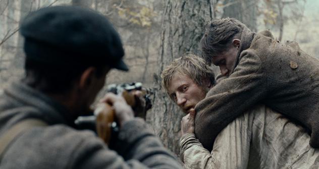 «Dans la brume», réalisé par Sergueï Loznitsa, va tenter d'arracher la Palme d'Or. Source: service de presse