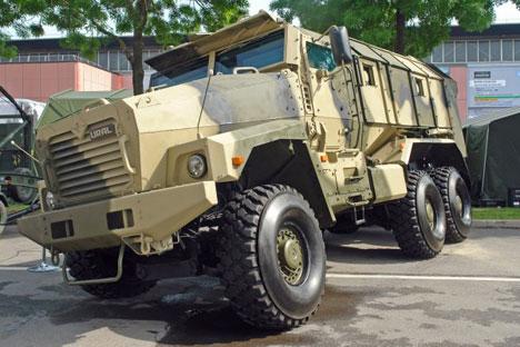 Ural-3M, véhicule blindé. Crédit photo: Sergueï Ptitchkine / RG