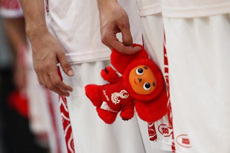 Seuls les uniformes conçus pour l'équipe olympique russe constituent une véritable réussite dans le domaine de l'image de marque. Crédit photo: Itar-Tass