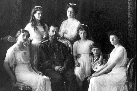 La famille Romanov. Source: service de presse