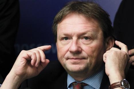 Boris Titov: «Ma mission est de rendre le système économique de notre pays viable et transparent afin que les investisseurs puissent se sentir en terrain sûr».Crédit photo: Alexandre Natrouchkine / RIA Novosti