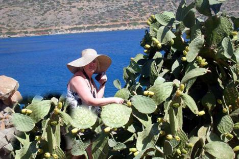 Svetlana Droujinina: «J'essaye de consacrer le montant de ma retraite aux voyages». Source: Archives personnelles