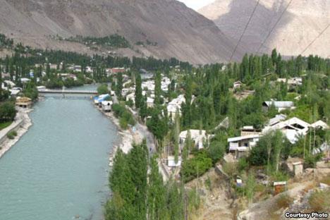 La ville de Khorog. Source: www.2shanbe.tj
