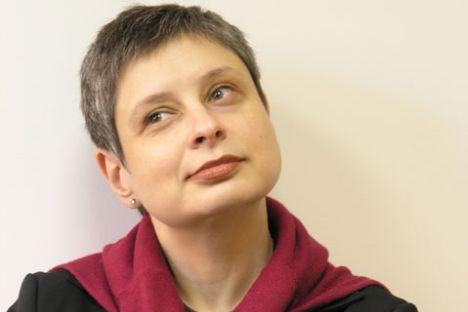 Nina Krouchtcheva, arrière-petite-fille du dirigeant soviétique Nikita Krouchtchev. Source: Service de presse.