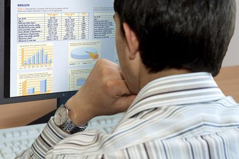 En 2011, le nombre de transactions sur le marché de l'Internet russe a augmenté de près de 3,6 fois. Crédit photo: PhotoXpress