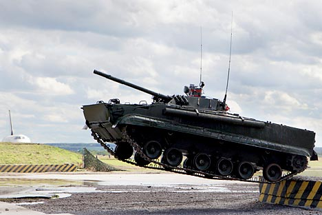 BMP-3 (Crédit photo : Itar-Tass)