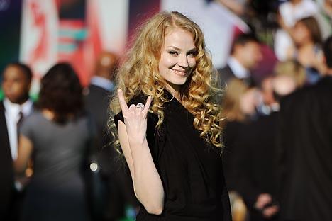 Svetlana Khodtchenkova est déjà connue du public occidental grâce au film La Taupe. Crédit photo: Itar-Tass