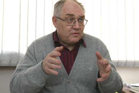 Lev Goudkov: «La grande majorité de la population russe est dégoûtée de la politique et ne s'y reconnaît pas». Crédit photo: PhotoXPress