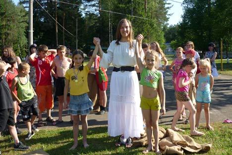 Au camp pour enfants Iouny Nijegorodets à Nijni Novgorod. Source: Service de presse