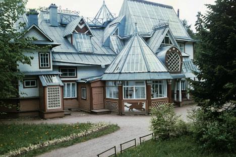 Jusqu'en 1940, la maison-musée du peintre, située dans le village de Répino (anciennement nommé  Kuokkala) se trouvait sur le territoire finlandais. Crédit photo: RIA Novosti