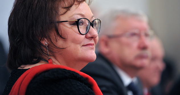 Olga Krychtanovskaïa (Crédit photo: Rouslan Krivobok / RIA Novosti)