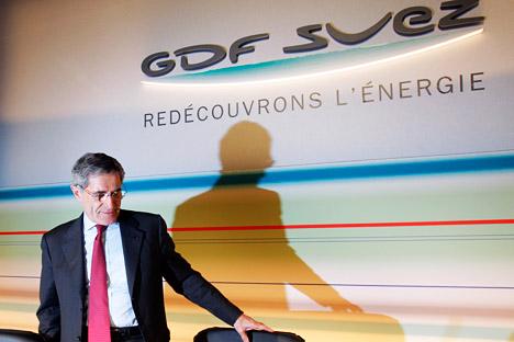 Le directeur général de la société GDF-Suez Gérard Mestrallet. Crédit photo: AP