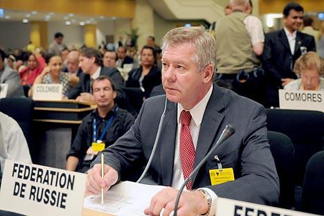 Vice-ministre russe des Affaires étrangères Guennadi Gatilov. Crédit photo: Itar-Tass