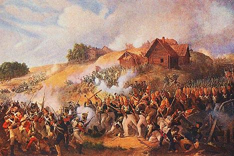 Peter von Hess «La Bataille de Kliastitsy». Source: Service de presse