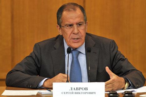 Cette fois-ci le ministère russe des Affaires étrangères a utilisé une rhétorique presque soviétique. Crédit photo: Kommersant Photo