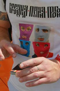 Les images de Pussy Riot font déjà les tendances de la mode, maintenant c'est le tour de l'art contemporain. Crédit photo: RIA Novosti