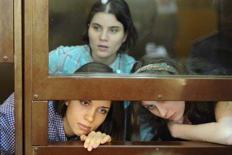 Le jugement contre les membres de Pussy Riot serait prononcé le 17 août à 15h, heure de Moscou. Crédit photo: Photoshot/Vostock Photo