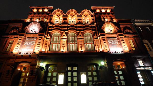 La nouvelle scène du théâtre Ermolova. Source: studio Zoloto Group