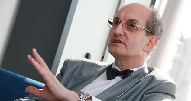 Pierre Filatoff, consul général dans l'Oural. Crédit photo: Tatiana Andreïeva