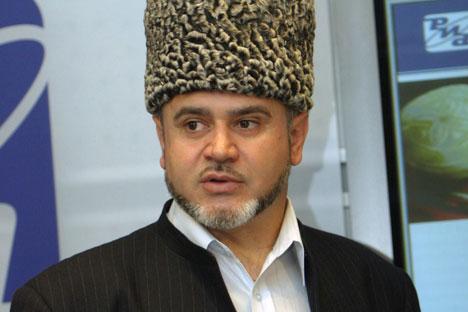 Le représentant à Moscou du Centre de coordination des musulmans du Caucase du Nord, le mufti Chafig Pchikhatchiov. Crédit photo: RIA Novosti