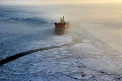 Il faut tout de même préciser que cet engouement soudain pour la navigation marchande le long des côtes russes septentrionales est directement lié au plus gros producteur indépendant de gaz, la société Novatek. L'année dernière, ce sont des tankers a