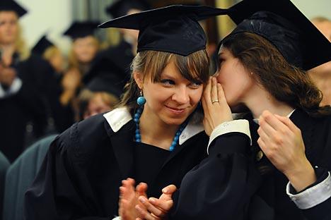 Seulement 12% des Russes considèrent que l'on peut réussir rien qu'avec un diplôme de l'enseignement professionnel. Crédit: Itar-Tass