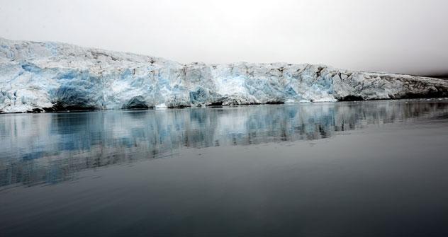 Sur les 30 dernières années, la couche de glace en Arctique a diminué entre 23 et 27%. Crédit: Itar-Tass